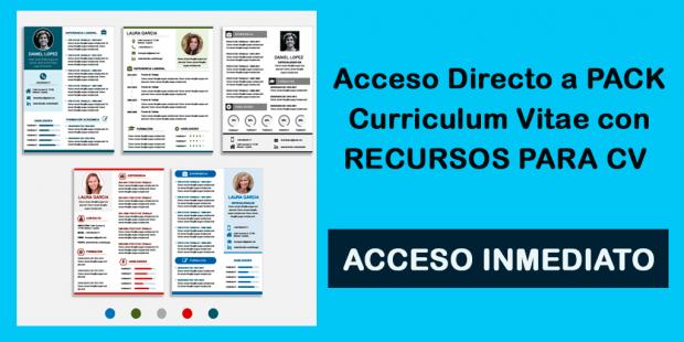 Plantillas Premium Curriculum Vitae - Vence con tu CV