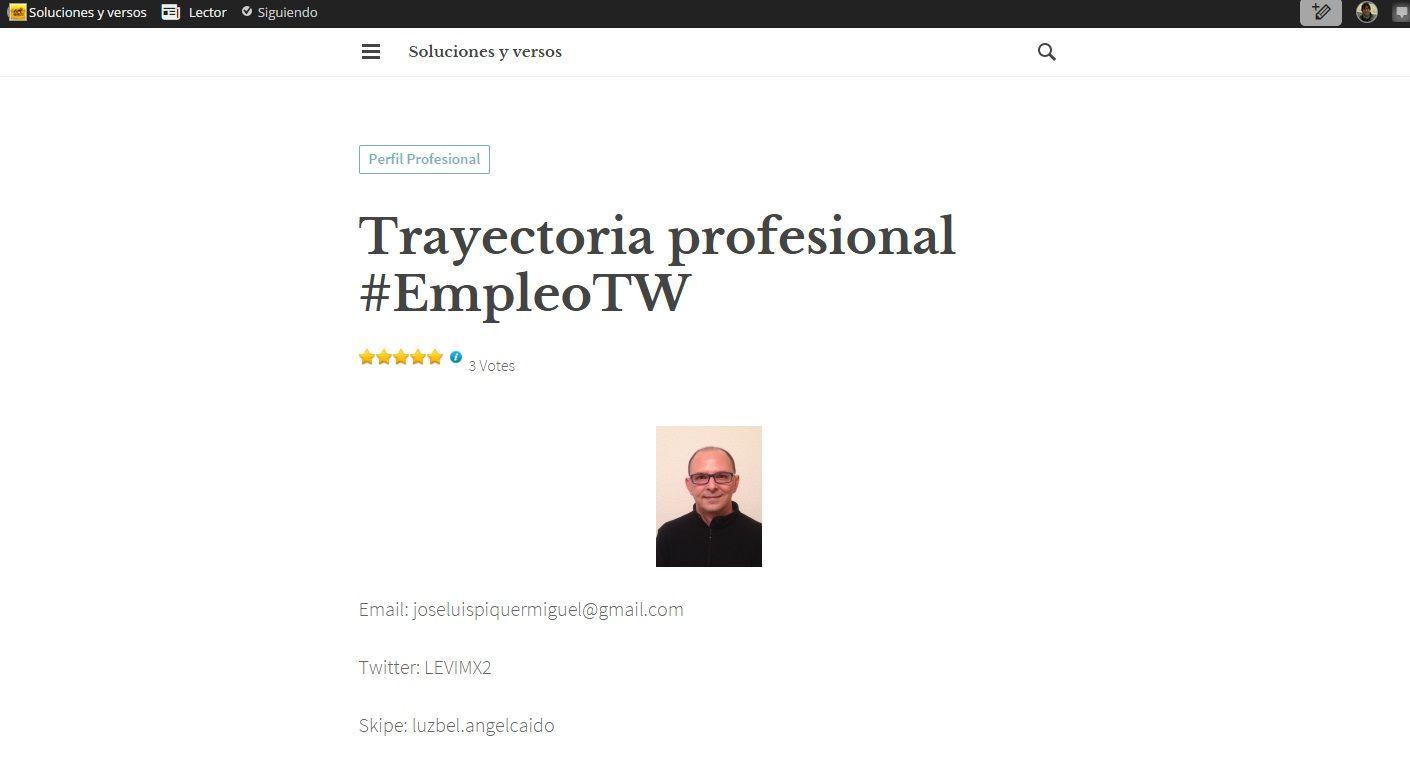 Ejemplos Tiles De Currculum Vitae En Blog El Salvador