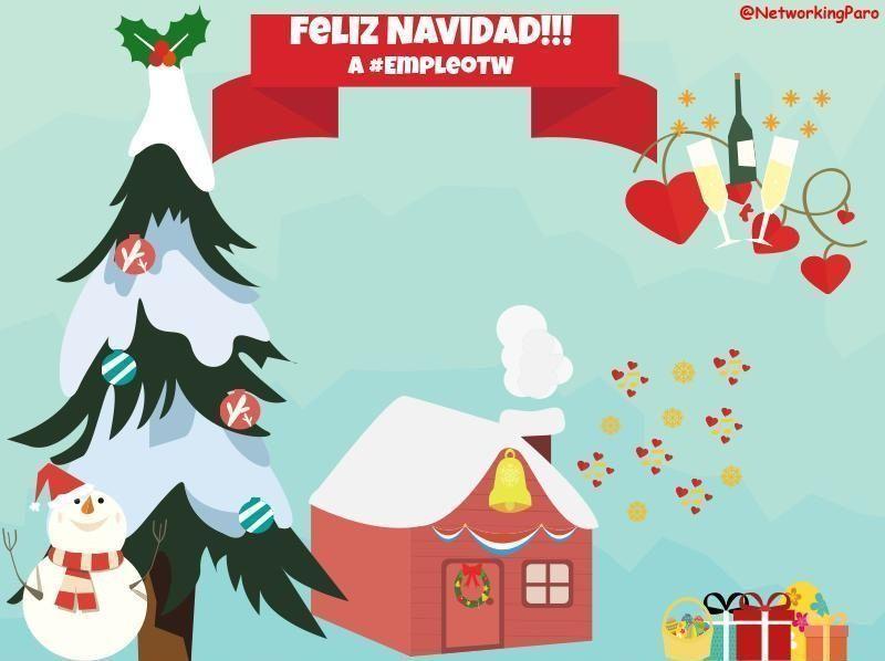 Feliz Navidad A Todos Networking Contra El Paro