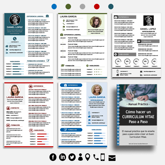 plantillas-para-curriculum-vitae-5-modelos-ebook-cv