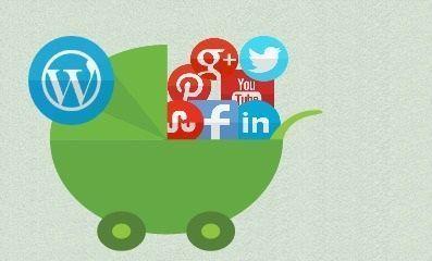 ¿Cómo tener los botones de redes sociales en un blog wordpress gratis?