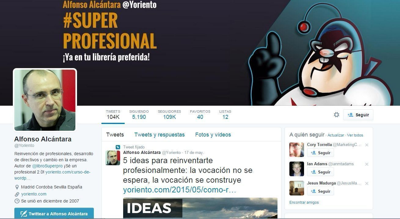 Twitter BIO Ejemplo Prueba Social