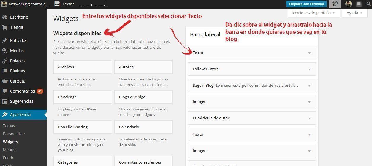 wordpress-widget-redes-sociales