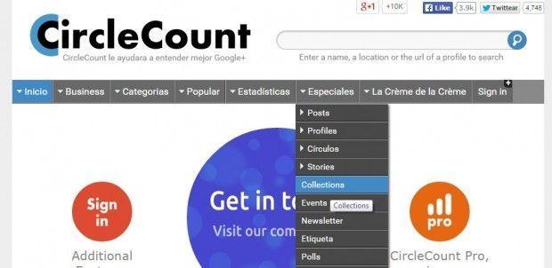 Buscar Colecciones en CircleCount