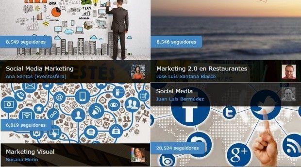 Colecciones de Google Plus sobre Mkt y Social Media