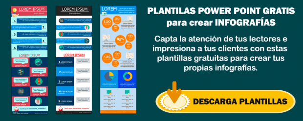 Banner Plantillas Power Point Gratis para crear Infografías