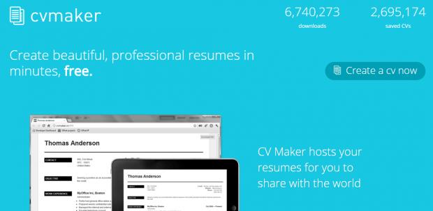 Hacer Curriculum Vitae Online con CVMaker