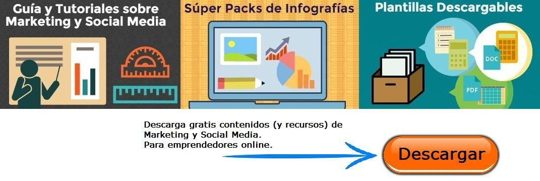 Recursos Descarga Gratis Marketing Social Media Emprendimiento