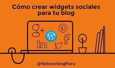 Cómo crear social widget para tu blog - Twitter, Facebook, Pinterest, Google Plus y LinkedIn
