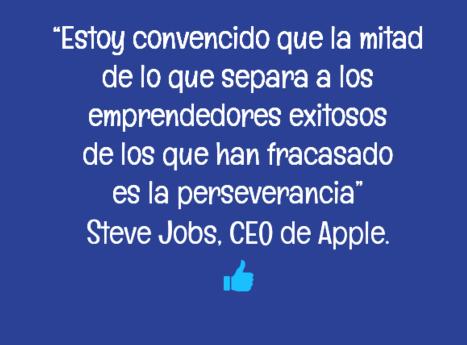 Cita sobre Emprendedores Exitosos - Steve Jobs