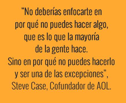 Cita sobre Emprendimiento - Steve Case