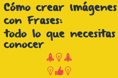 como crear imagenes con frases