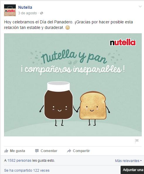 imagenes graciosas nutella