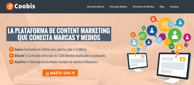 Marketing de Contenidos con Coobis