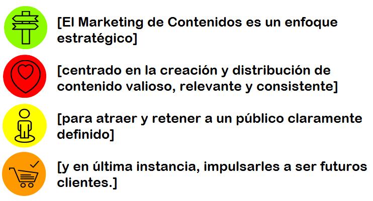 Definición de Marketing de Contenidos