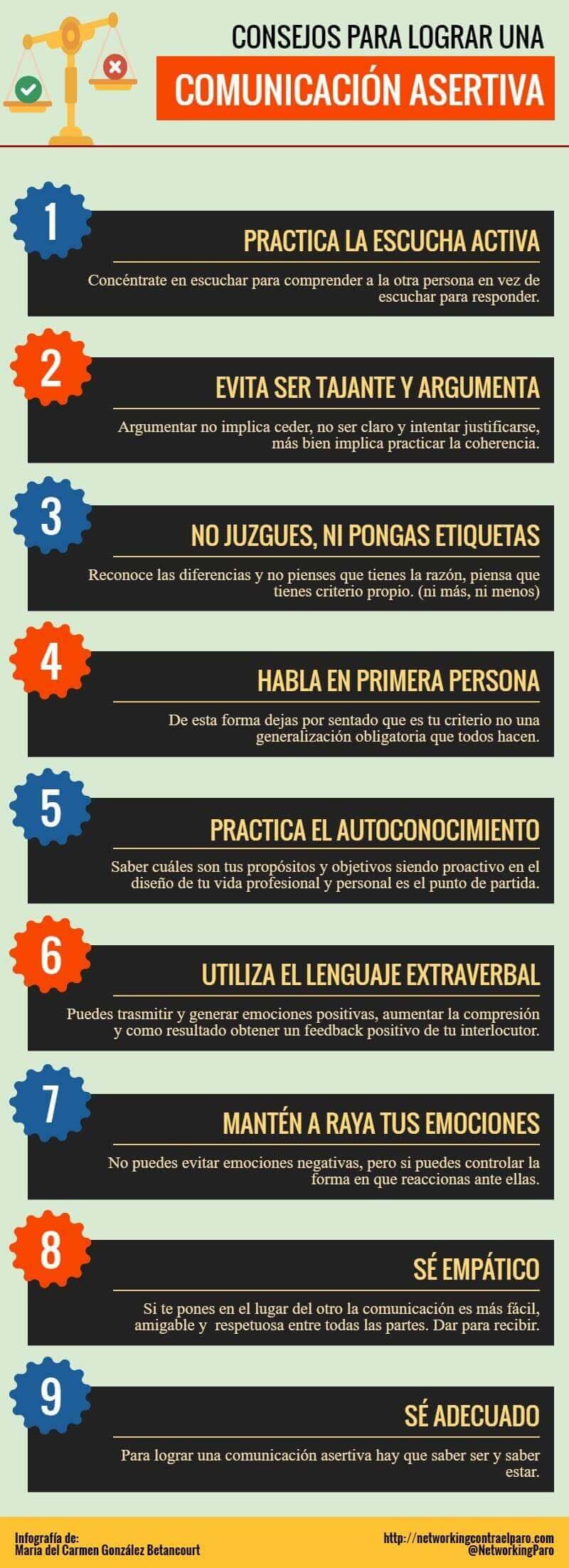 Consejos para una Comunicación Asertiva