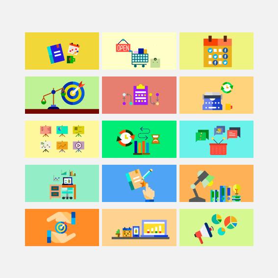 Banners para crear infografías