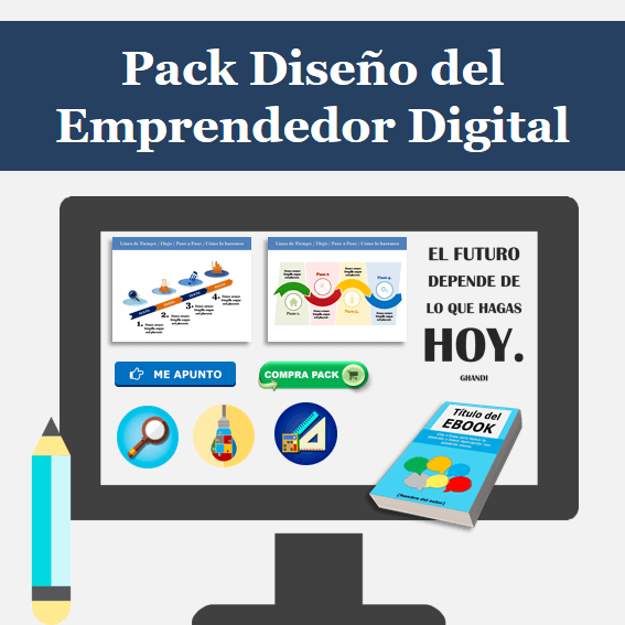 Pack Diseño Emprendedor Digital e Infoproductor