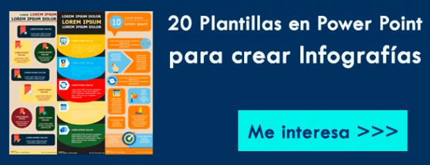 Plantillas Power Point para crear Infografías Premium