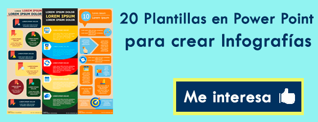 Plantillas para Power Point crear Infografías