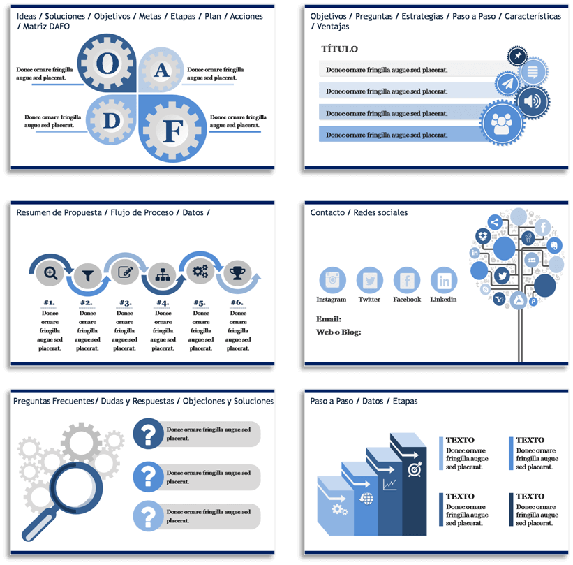 guía práctica cómo estructurar y crear presentaciones efectivas