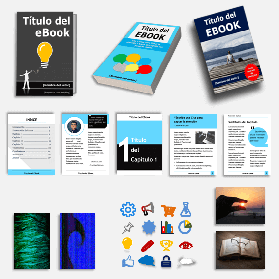 Pack Ahorro Diseña y crea un Ebook Profesional