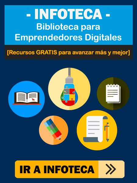 Biblioteca Diigital para Emprendedores de Marketing y Blogging