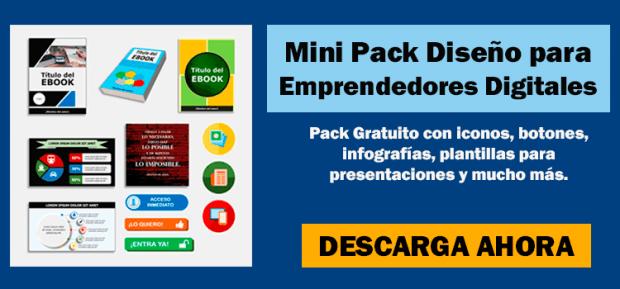Banner Mini Pack Gratuito de Diseño del Emprendedor Digital