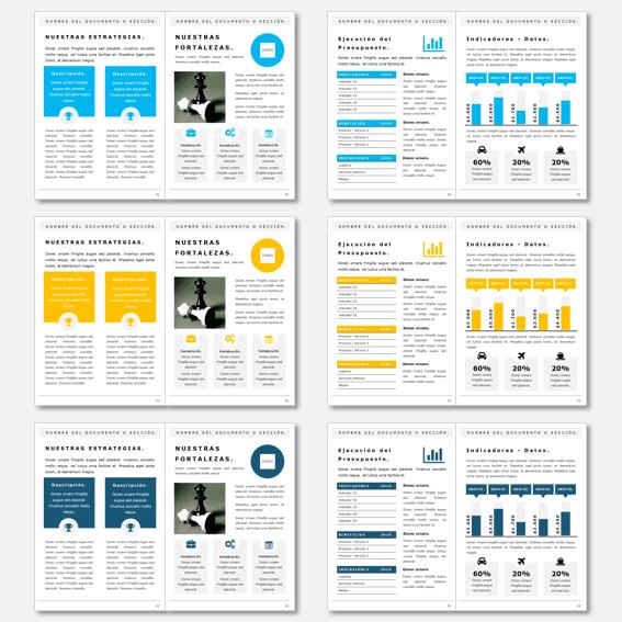 Plantillas Powerpoint para Informes y Dossier Empresa
