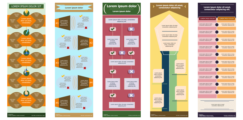 Plantillas para hacer infografías