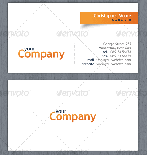 Como hacer tarjetas de Presentación con Plantillas Tarjetas de Visita